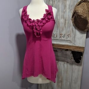NWT Sweet Pea mulberry tank